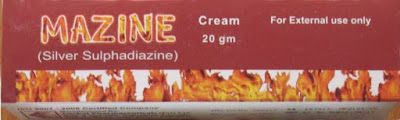 Mazine 20mg Cream for burns