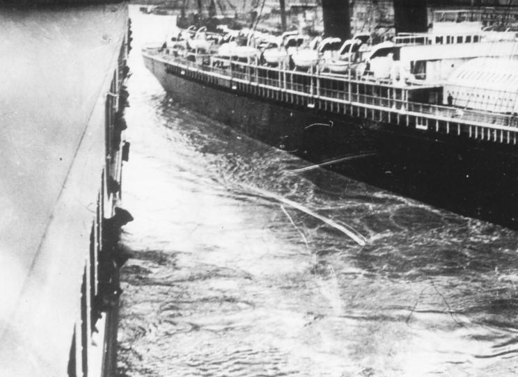 Isvarning nadde inte fartyg