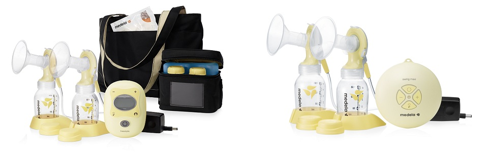 The Medela Freestyle and the Medela Swing Maxi