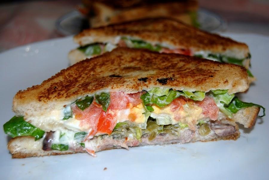6 Recetas De Sandwich Frios Cocina