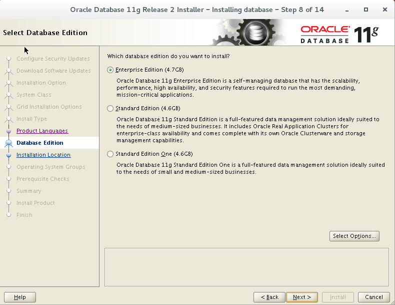 Install Oracle 11g Release 2 on Linux 7 ~ Dilli's Oracle