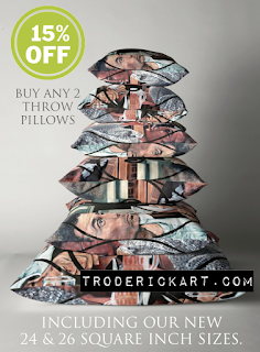 Yin and Yang Throw Pillows by TR