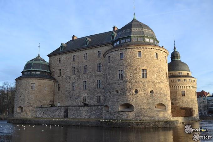 Facet w damskich ciuchach, czyli historia zamku w Örebro