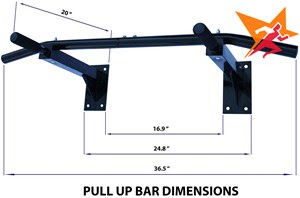 Xà đơn đa năng Wall Pull Up Bar P90X đa công dụng cho cả gia đình