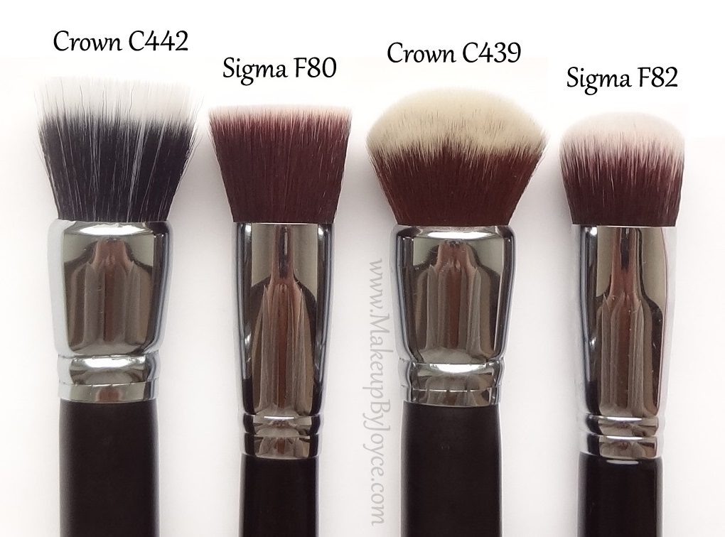 ❤ MakeupByJoyce ❤** !: Review + Comparison - Crown Brush
