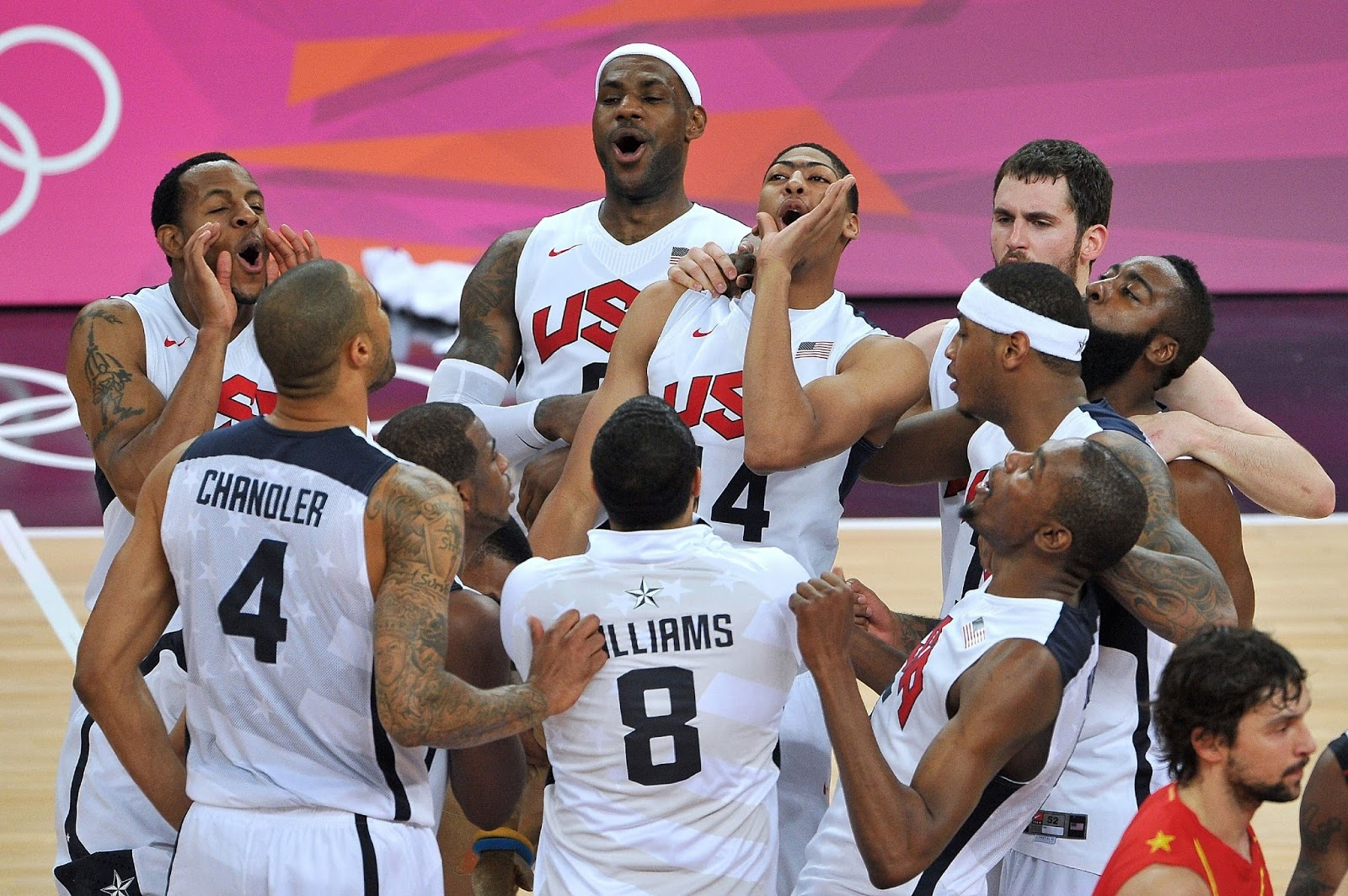 OLYMPICS TEAM USA BASKETBALL 2