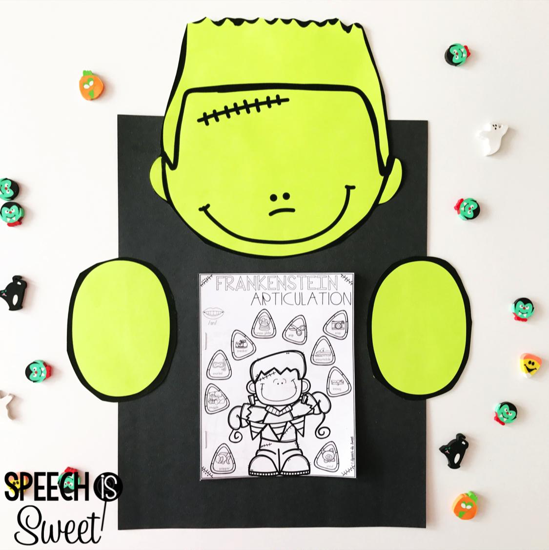 Halloween Worksheet Bud S Freebie
