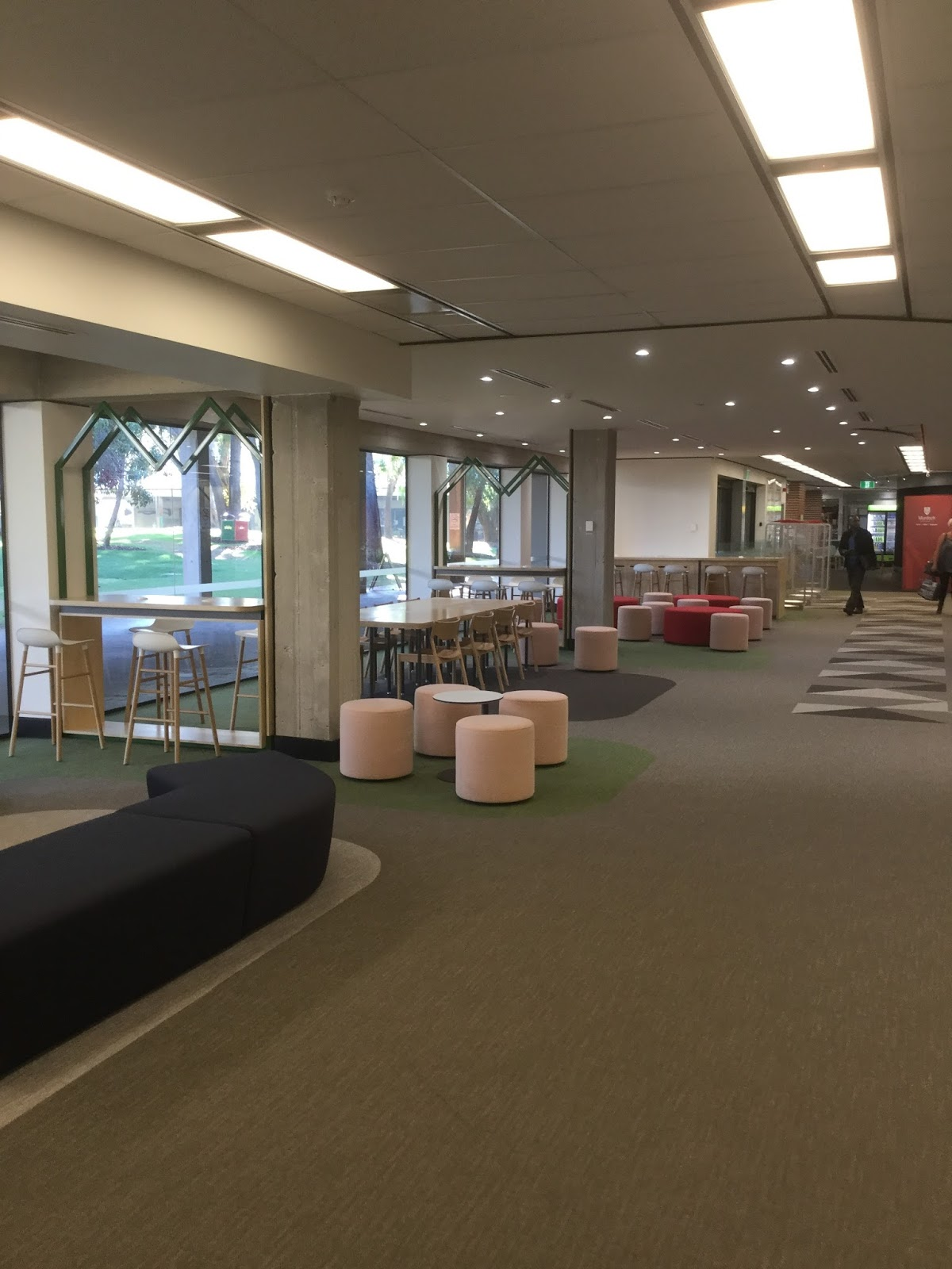 Open Foyer University : Murdoch university library news foyer now reopened