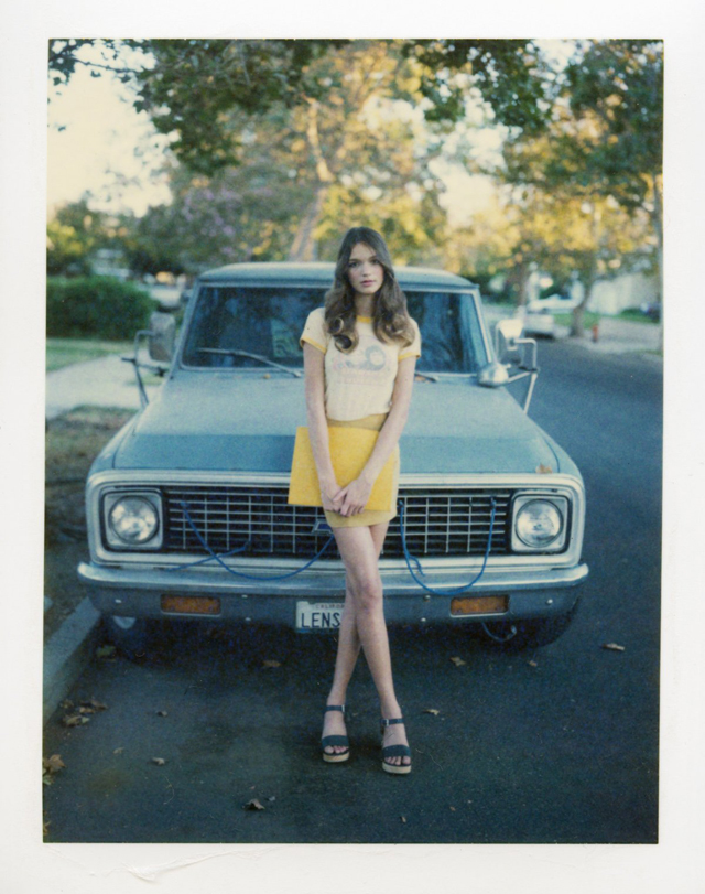 25 Cool Polaroid Prints Of Teen Girls In The 1970s Vintage Everyday