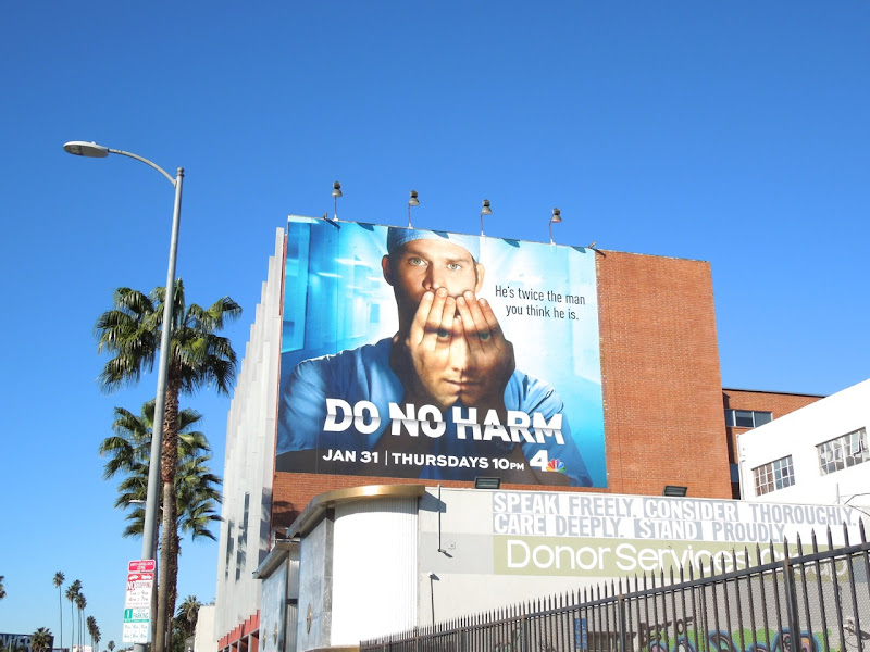 Do No Harm NBC billboard