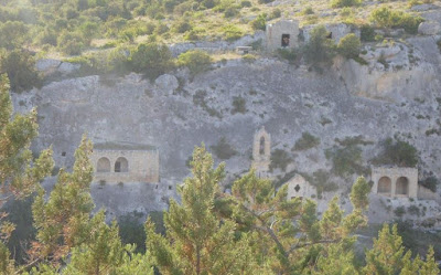 chiesa rupestre di Cristo La Selva