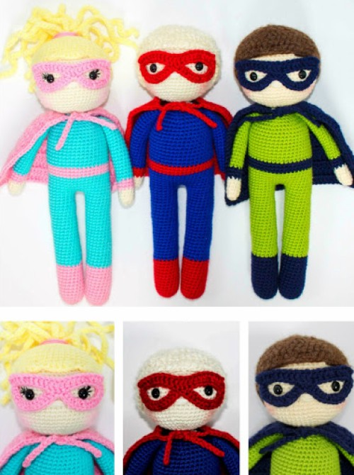 The Friendly Superhero - Free Pattern