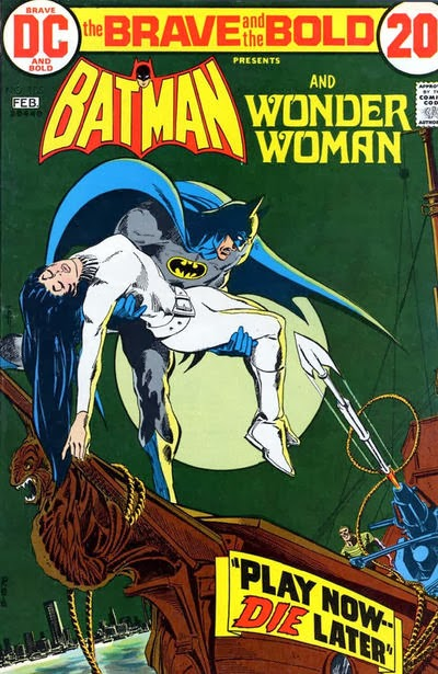 Brave and the Bold #105, Batman and Wonder Woman