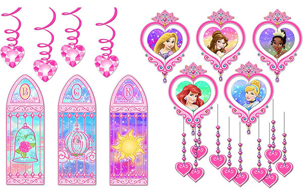 Disney Princess Royal Event Decorating Kit