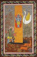 Shiva Linga - buddhistische Weltenachse, Baum des Lebens
