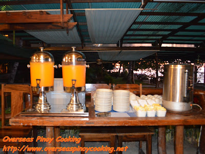 Breakfast Buffet - Juice and Cofee