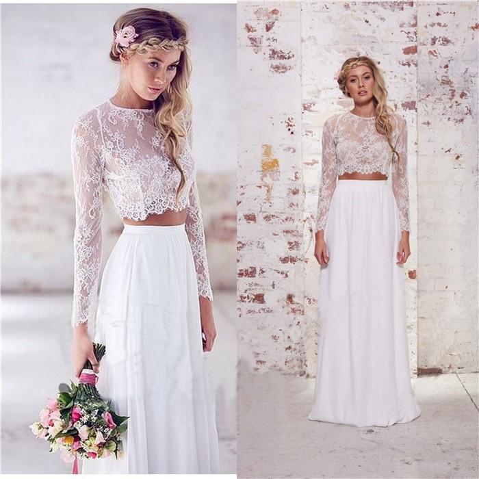 da74c27195 Para una matrimonio en la playa el vestido ...