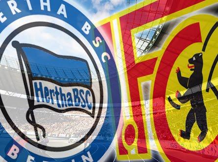 Pertandingan Hertha Berlin vs 1. FC Union Berlin
