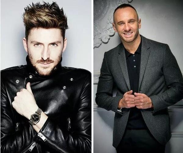 Bristol Fashion Week presenters Henry Holland and Mark Heyes