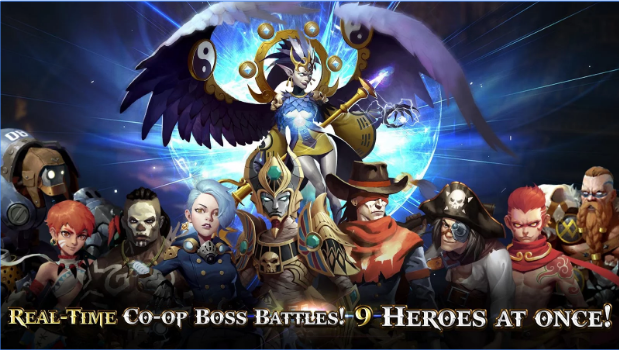 Heroes of Skyrealm Mod Apk Android