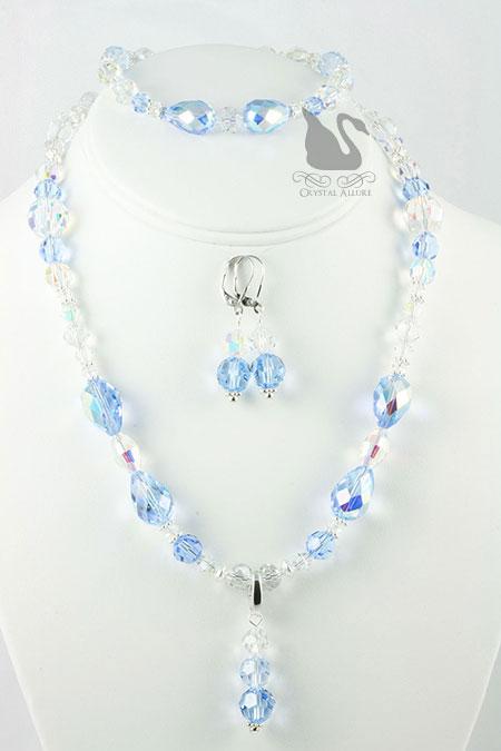 Mary Kay's Custom Crystal Vintage 3-pc. Jewelry Set (JS100)
