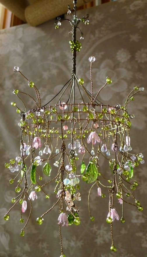 Lighting Basement Washroom Stairs: Dishfunctional Designs: The Upcycled Chandelier