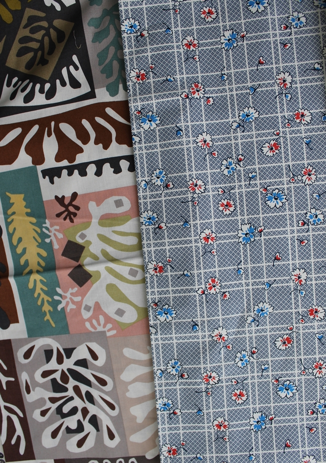 """composition: coral"" The Alexander Henry Fabrics Collection 2010  2012 DS Quilts Collection for Fabric Traditions"