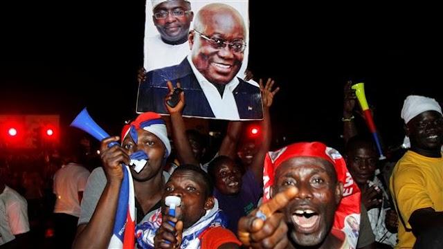 Ghana's opposition leader Nana Akufo-Addo  wins presidential polls, vows prosperity