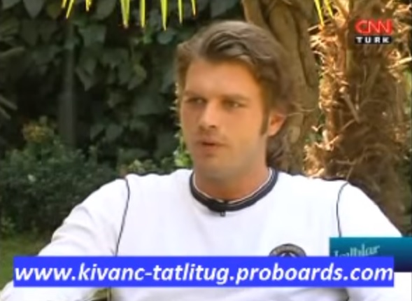 Tatlitug Kivanç in an interview for the Turkish CNN