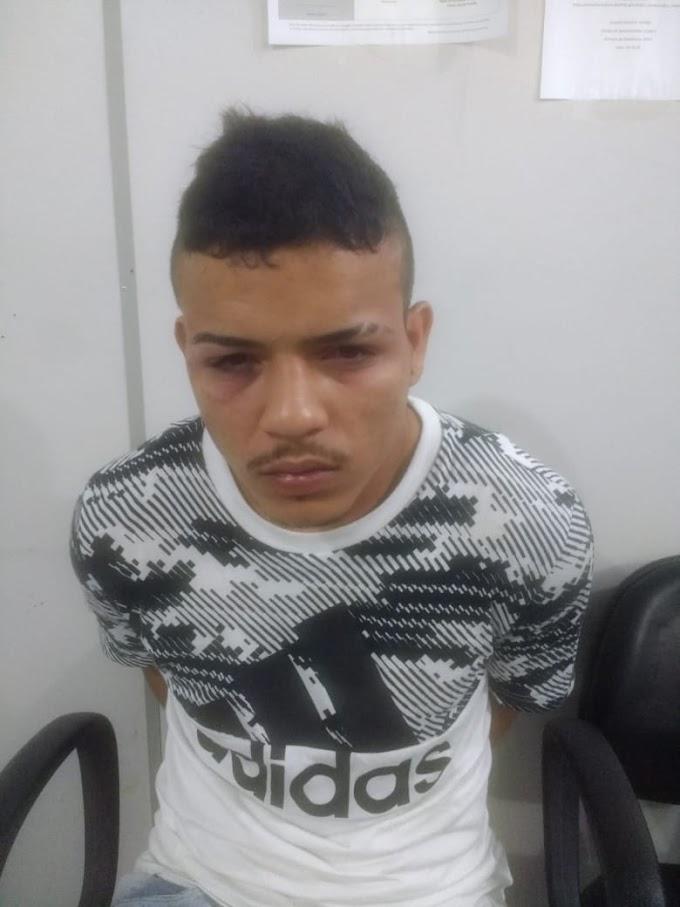 Integrante da gangue da marcha à ré é preso em casa dormindo