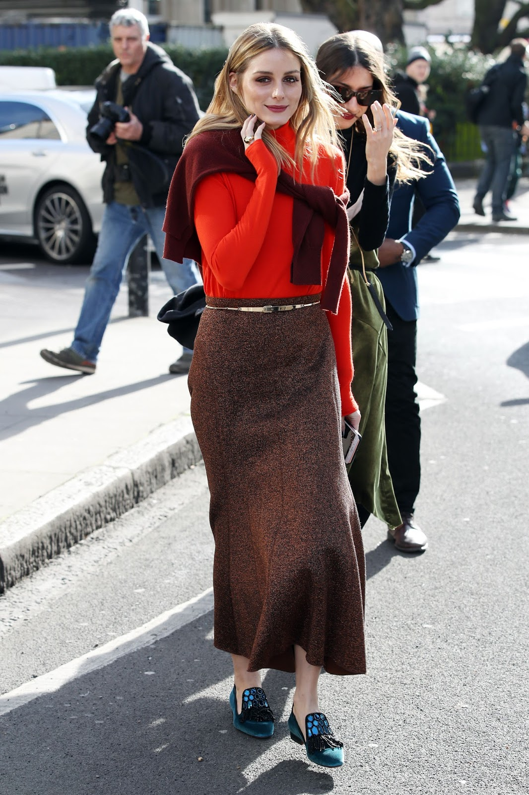 The Olivia Palermo Lookbook Olivia Palermo At London Fashion Week