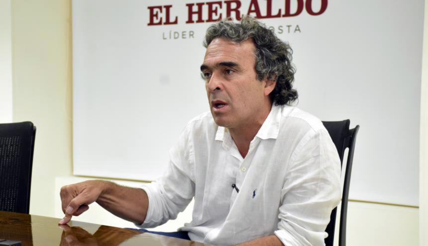 Fajardo había negado públicamente su postulación en noviembre / EL HERALDO