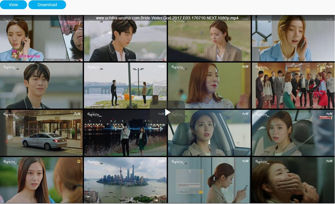 Screenshots Download Film Drama Korea Gratis Bride Of The Water God, The Bride of Habaek, 하백의 신부 (2017) Episode 03 DWBH NEXT MP4 Free