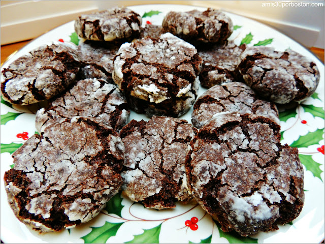 Chocolate-Coconut Crinkle Cookies