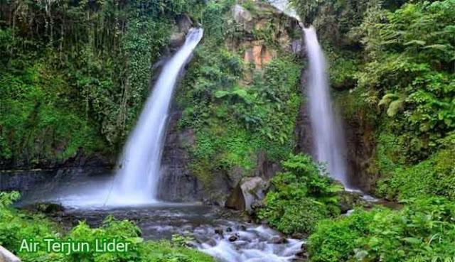 Air Terjun Lider Banyuwangi Yang Indah Mempesona