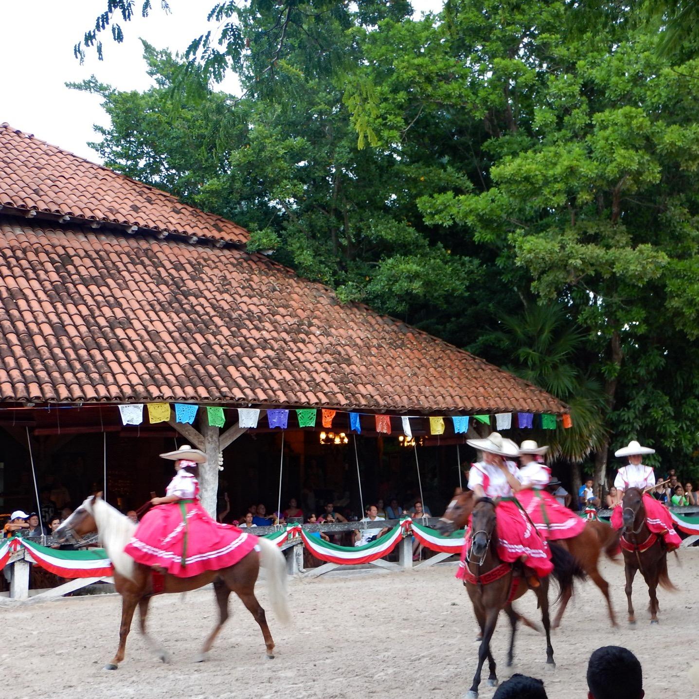 xcaret equestrian show