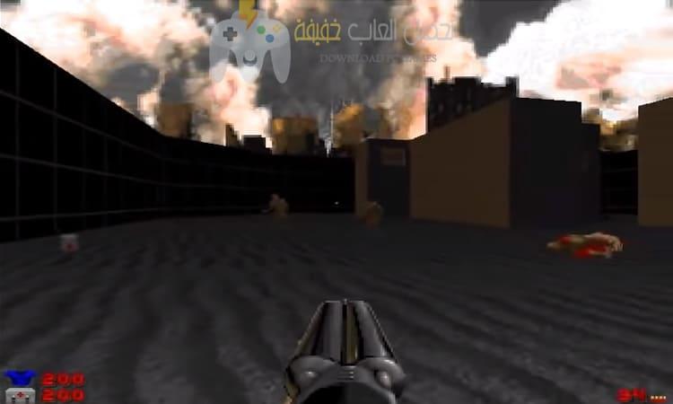 تحميل لعبة Doom بحجم صغير