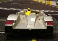 Faros traseros del Audi R8 de Scalextric Lemans