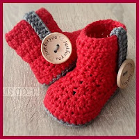 Botas bebé a crochet