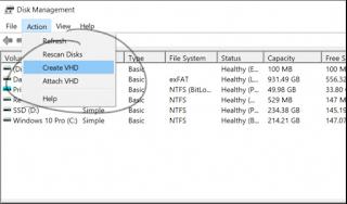 Cara Membuat Virtual Hardisk di Windows 10