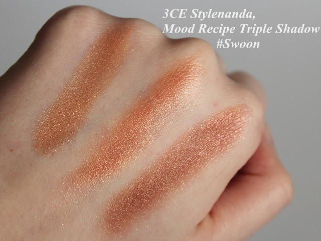 3CE Stylenanda, Mood Recipe Triple Shadow #Swoon