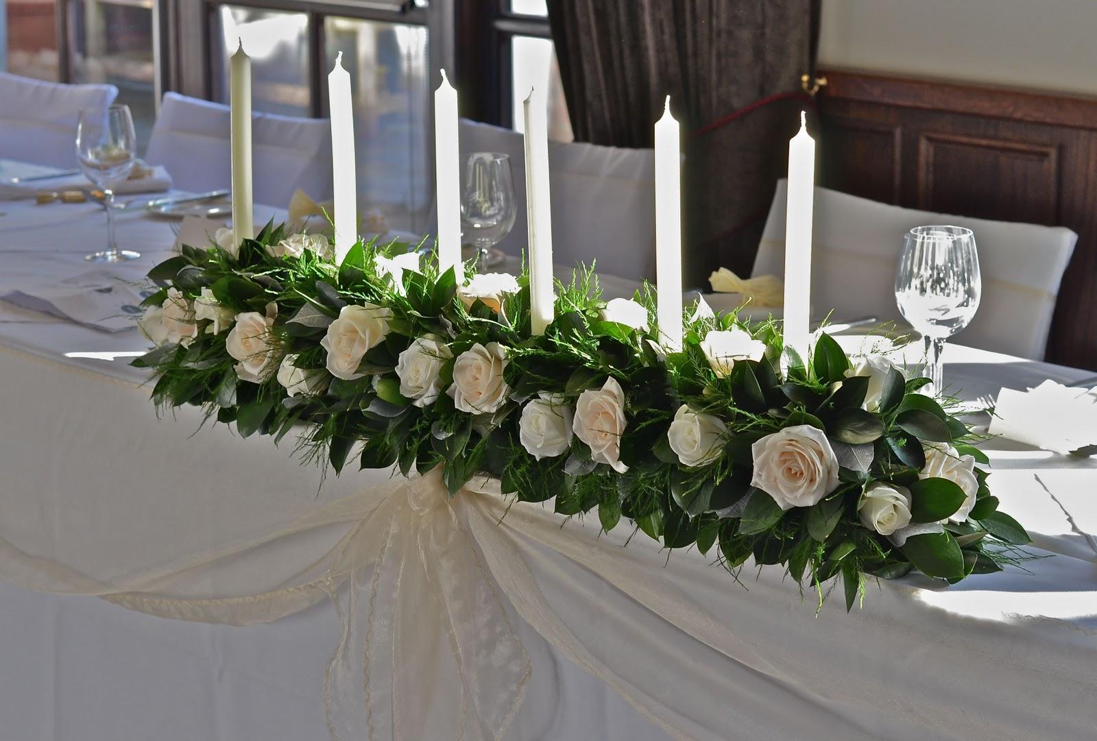 Wedding Flowers Blog: Amy's Christmas Wedding Flowers, New