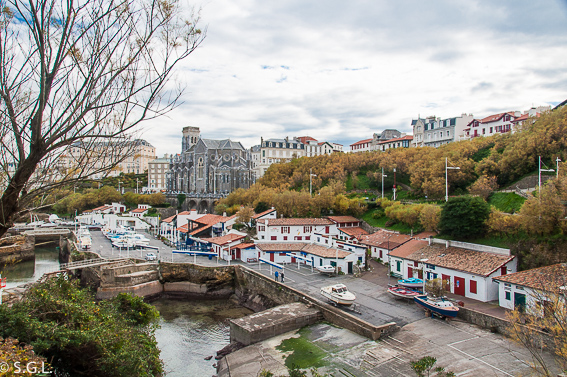 Puerto de pescadores de Biarritz. Que visitar en Biarritz en invierno