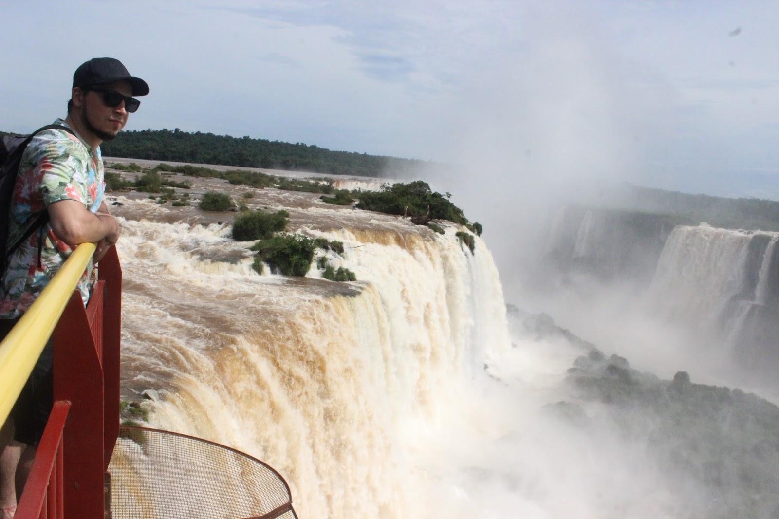 Cataratas del Iguazu Lado Brasileño desde argentina