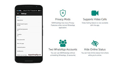 GBWhatsApp APK Download Latest Version (v7.25) free download (Anti-ban) for Android www.DcFile.com