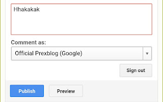 How to comment on prexblog