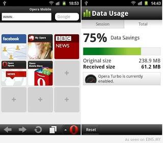 cara setting opera mini handler apk telkomsel internet gratis