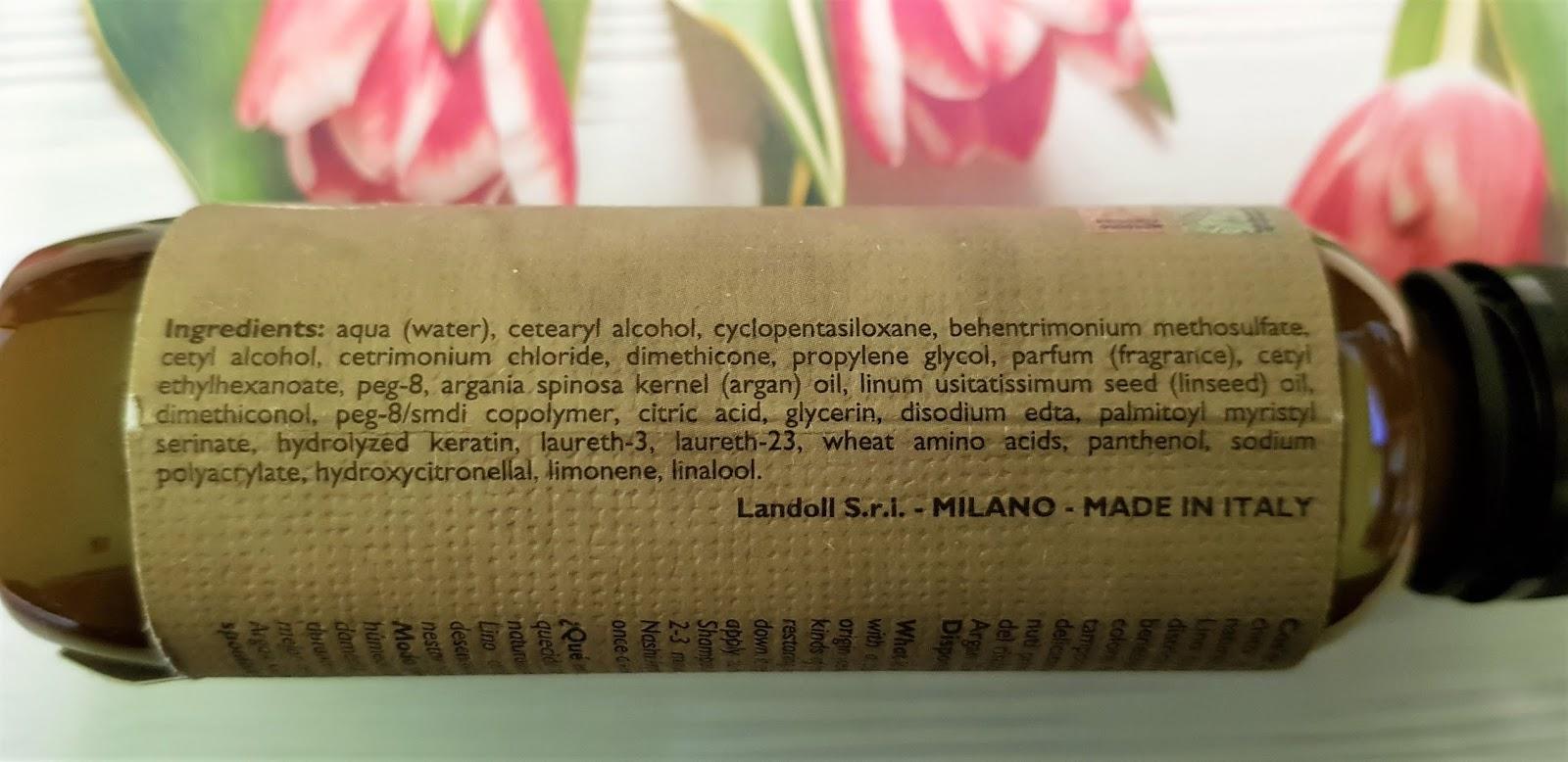Nashi argan conditioner odżywka arganowa do włosów