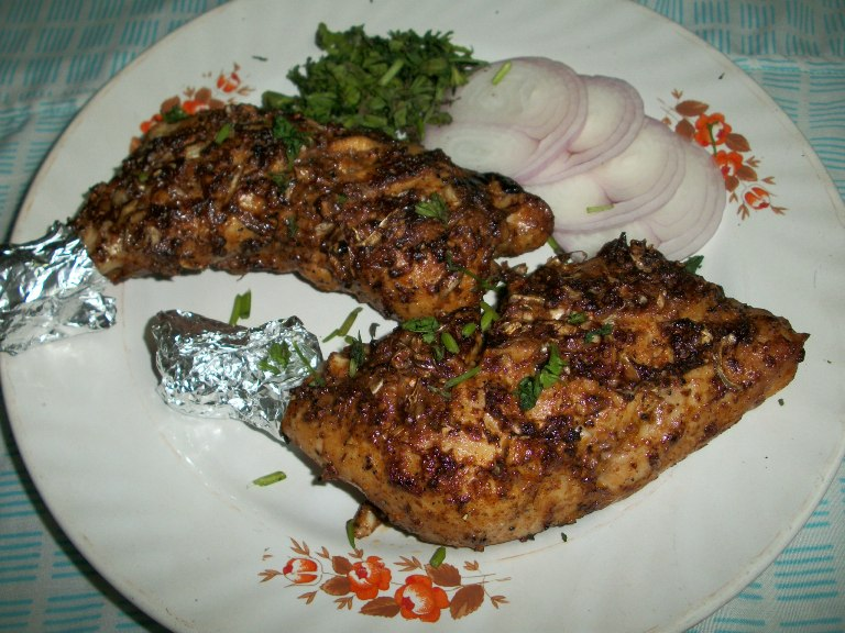Grilled Chicken / Oven Roasted Chicken Legs with a Twist