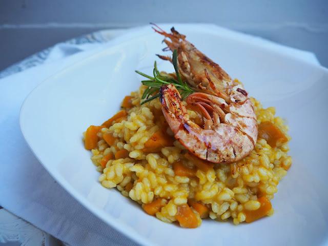 italský recept na risotto s dýní